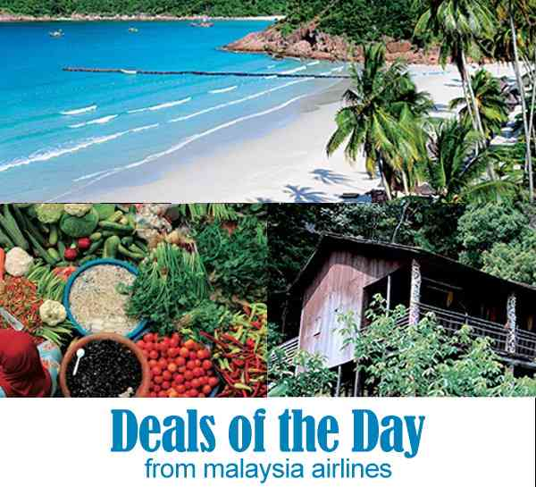 Malaysia Airlines Domestic Deals of the Day