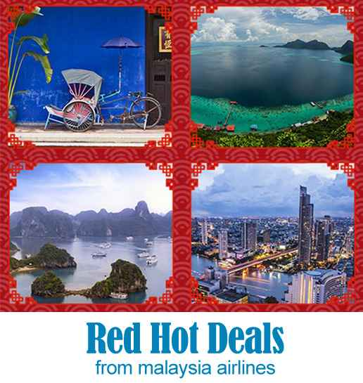 Mas Airlines Red Hot Deals