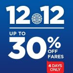 Mas Airlines 4 Days Up to 30% Off Sale